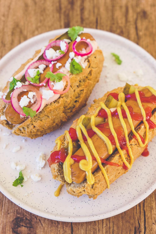 hot dog healthy sans gluten recette psyllium blond