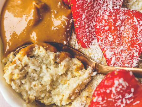 Overnight Porridge pour Intestin Paresseux (et Matin Pressé)