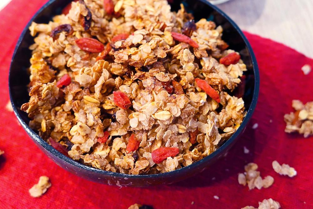 granola de noël xxtra pépites recette psyllium