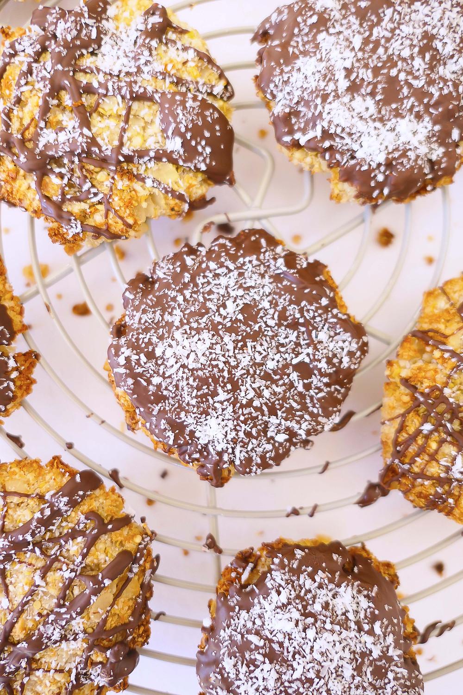 cookies sans gluten noix de coco chocolat constipation manger