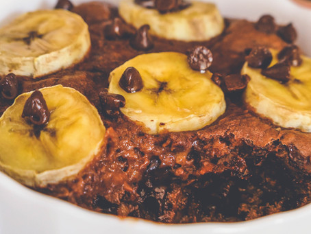 Gâteau individuel Choco-Banane