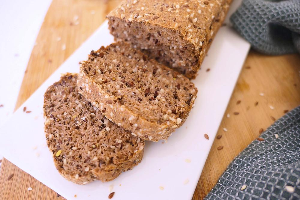 pain express aux graines sans constipation manger