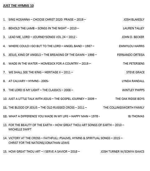 JUST THE HYMNS 10.JPG