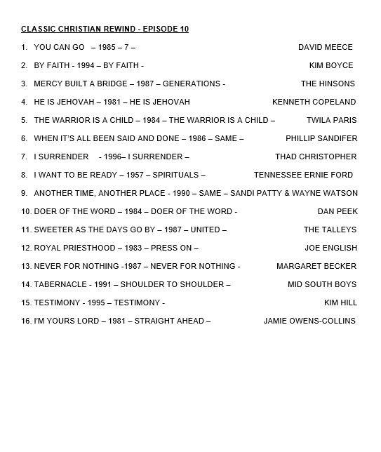 CLASSIC CHRISTIAN REWIND - EPISODE 5  - EPISODE 10.JP