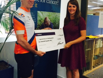 APH take on a 20,000 mile bike ride challenge for the Centre for Cancer Immunology