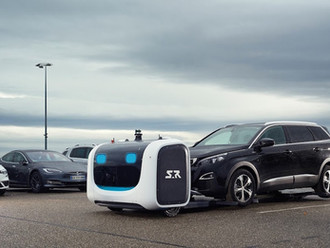 Gatwick Trials Robot Parking