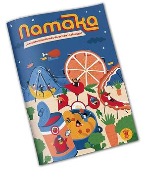 NAMAKA ILUSTRACIÓN INFANTIL LAUFER