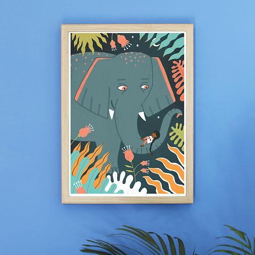 Elefanta - GIRLS&ANIMALS