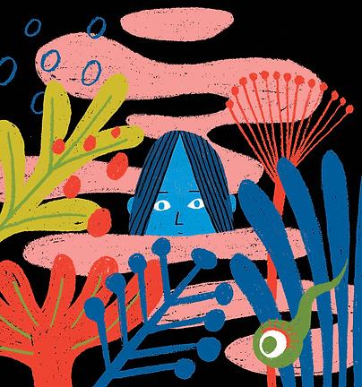 La mujer del pantano - Laufer Ilustración