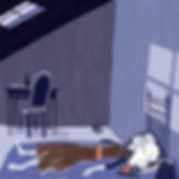 El cuarto del tragaluz - Laufer Ilustración