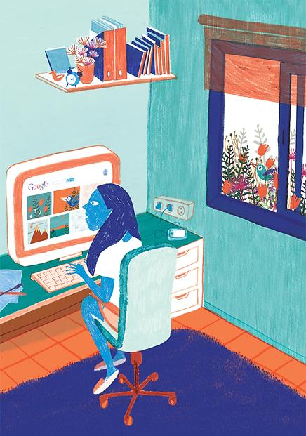 Lo cotidiano - Laufer Ilustración
