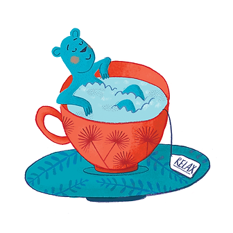 Tea & Illustration - Laufer Ilustración