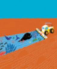 Tierra y mar - Laufer Ilustración