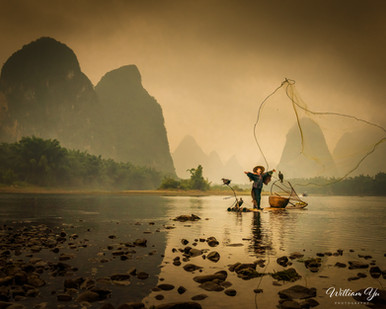 Fishing on Li River