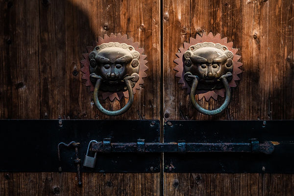 Traditional door guards