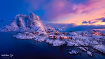 Dawn at Hamnøya
