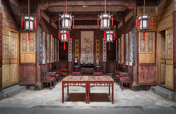An ancient residence in Hongcun village