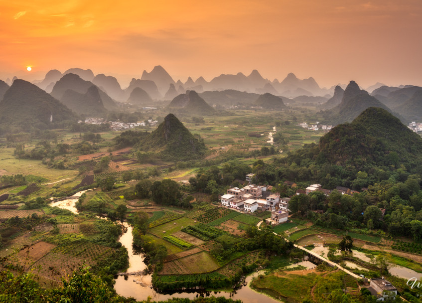 Guilin, Guangxi province, China.