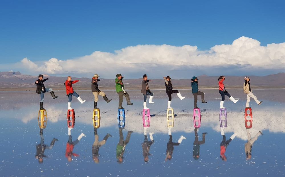 We are having fun on Uyuni