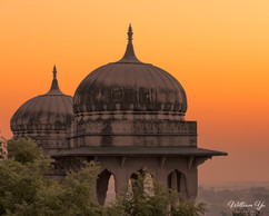 Dawn at Castle Mandawa