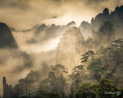 Misty Mt. Huangshan