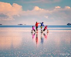Reflection of Uyuni