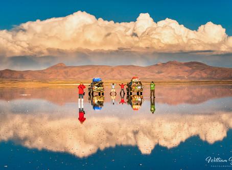 The amazing salt flat of Uyuni, Bolivia