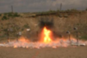Testing Explosion