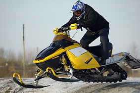 Stress Outdoor Snowmobile