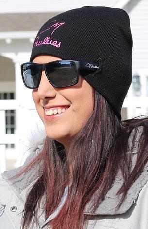 CM Skullies Eyewear Beanie- Pink Stitching
