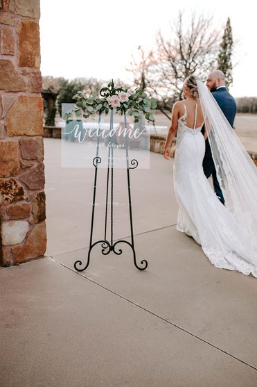 This photo is an all time favorite capturing the bride and groom walking away!