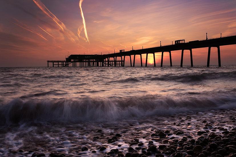Deal Pier Sun Rise 1