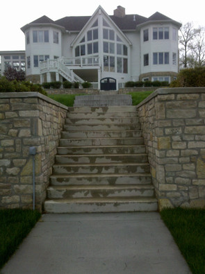 Retaining Walls, Stairs and Concrete