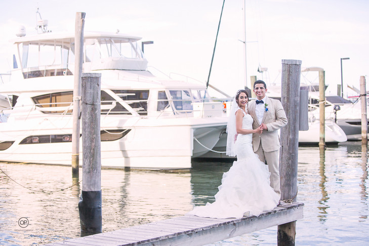 DoubleTree Grand Miami Wedding:  Janelle + Nathan