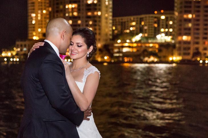 Intercontinental Miami Wedding: Linda + Habram