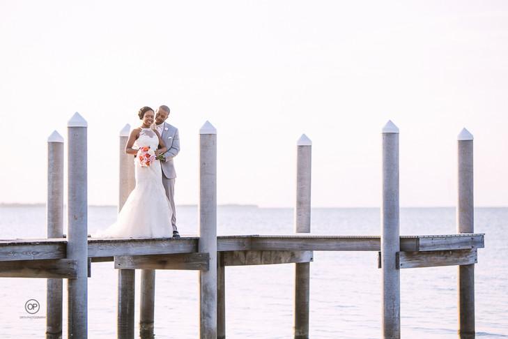 Key Largo Beach Wedding:  Rhonda + Peter