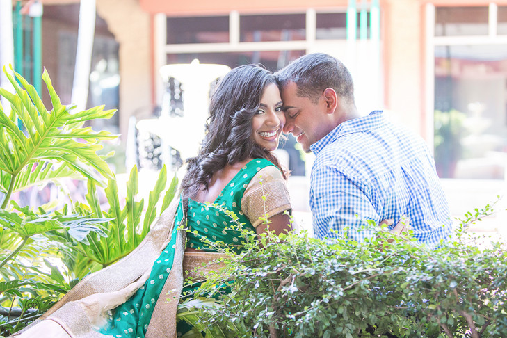 Coconut Grove Engagement session:  Blossom & Richey