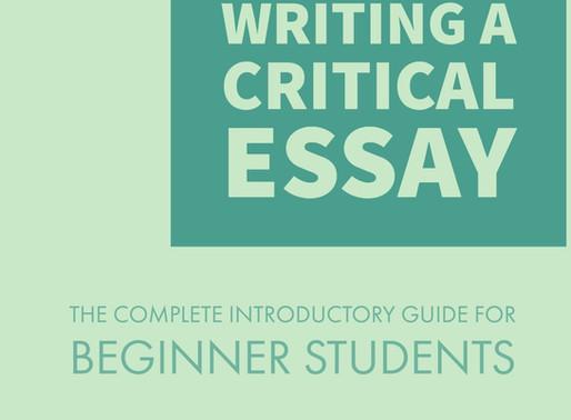 How-To Write a Critical Essay