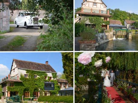Votre cérémonie de mariage dans un lieu magnifique le MOULIN XII