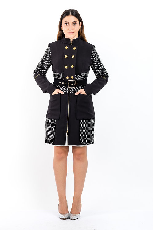 Mantel im Military Look