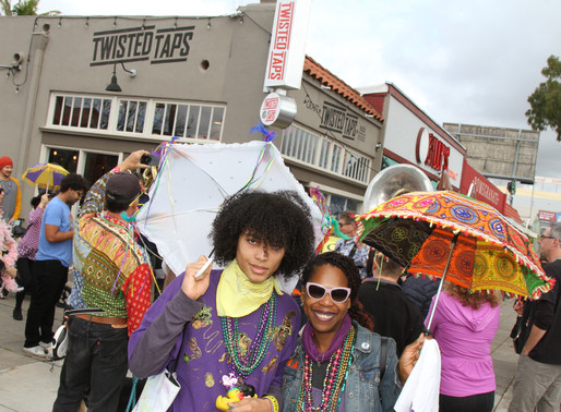 Mardi Gras Crawl Returns to El Cajon Blvd. with Festive Strolling Party on Feb. 23
