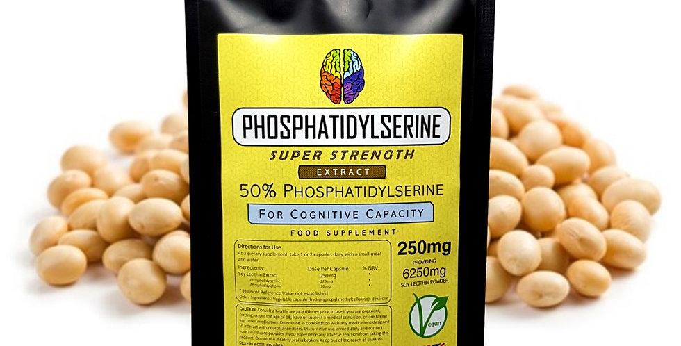 Phosphatidylserine (250mg Capsules)