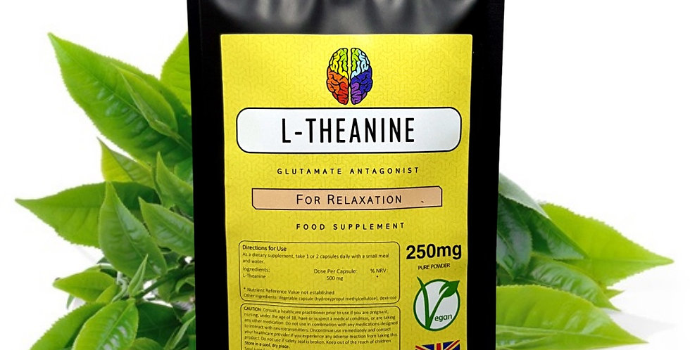 L-Theanine (250mg Capsules)