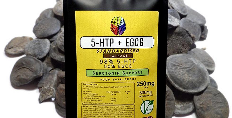 5-HTP & EGCG (550mg Capsules)