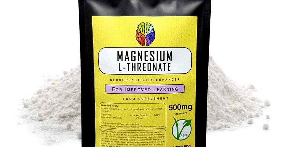 Magnesium L-Threonate (500mg Capsules)