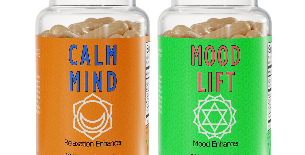 The Wellbeing Pack - Calm Mind™ & Mood Lift™