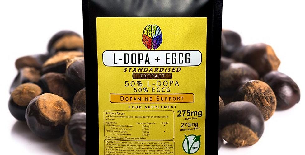 L-DOPA & EGCG (550mg Capsules)