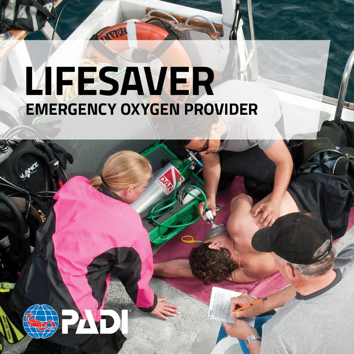 PADI - Emergency Oxygen Provider