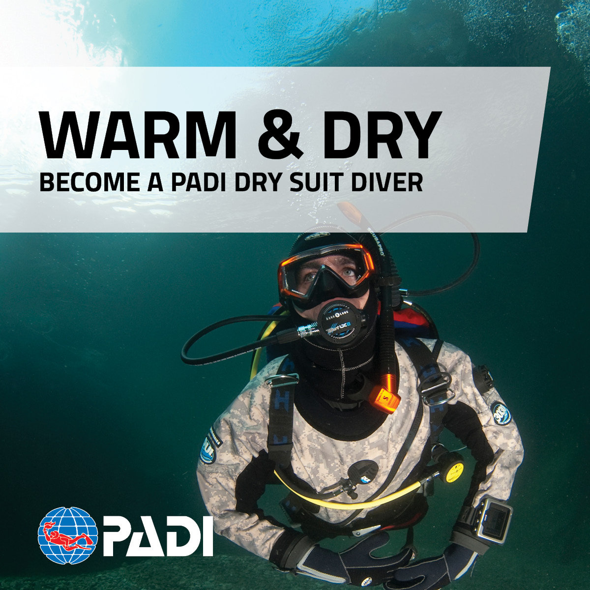 PADI - Dry Suit Diver Specialty