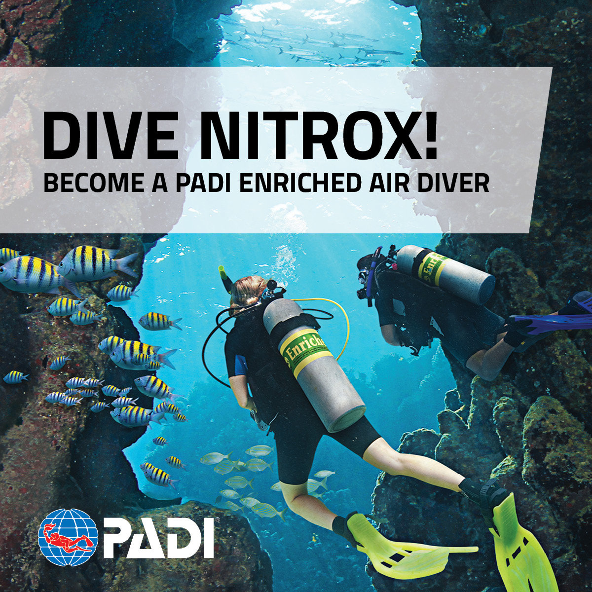 PADI - Enriched Air Diver Specialty